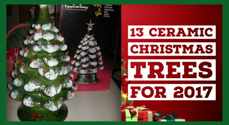 13 stunning vintage ceramic christmas trees with lights best for 2017 - Ceramic Christmas Trees With Lights