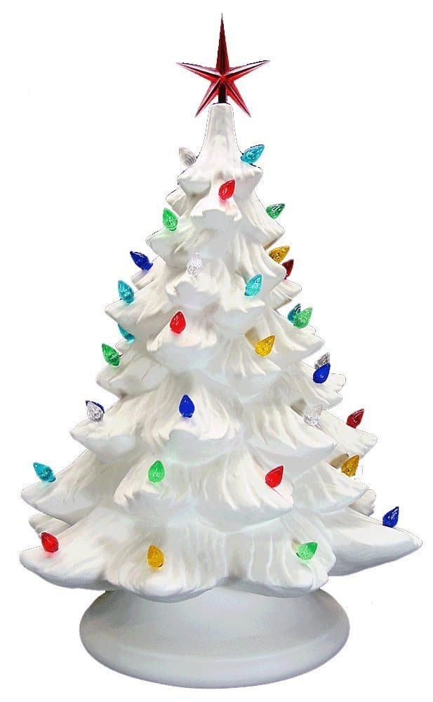 13 of the most beautiful ceramic christmas trees for 2017 for Ceramic based paint