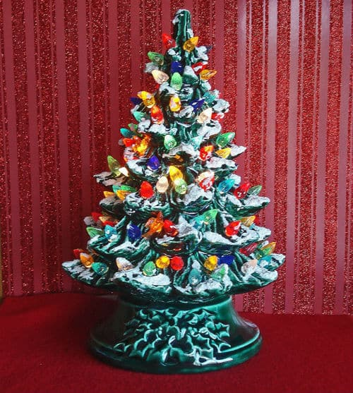 13 Of The Most Beautiful Ceramic Christmas Trees For 2017